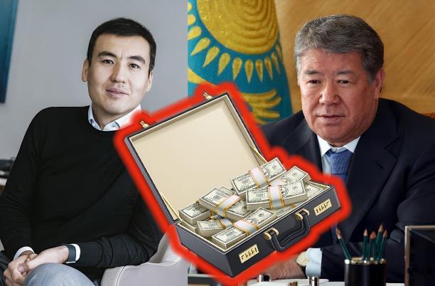 Ахметжан Есимов и Галимжан Есенов дружно пилят